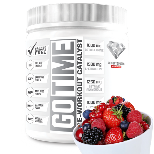 Go Time - Pre-Workout Catalyst