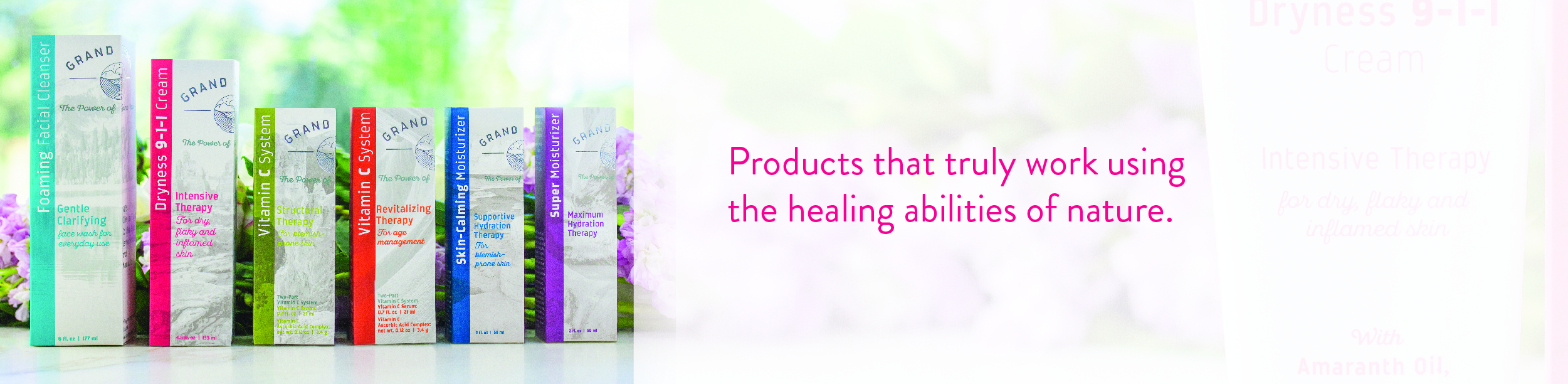 Clean, effective formulas that provide visible results.