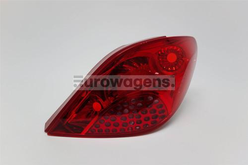 Rear light right Peugeot 207 06-09