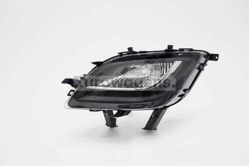 Front indicator left black Vauxhall Astra J 09-12