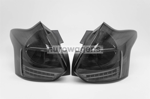 Rear light set smoked LED Ford Focus 11-15