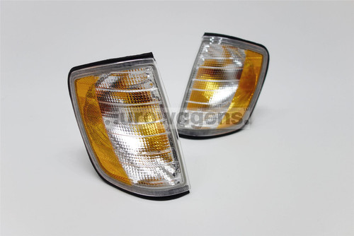 Front indicators set US Look Mercedes Benz E Class W124 85-95