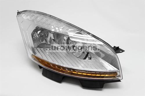 Headlight right Citroen C4 Picasso 07-10