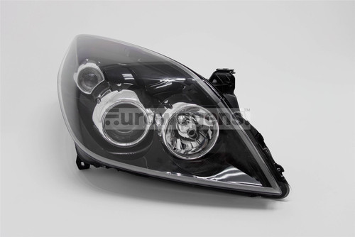 Headlight right black Vauxhall Vectra C Signum 05-09