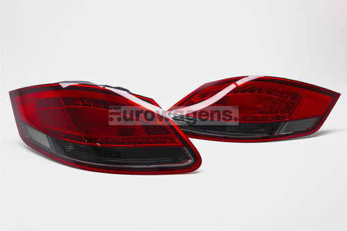 Rear lights set red smoked LED Porsche Boxster Cayman