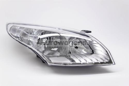 Headlight right chrome Renault Megane 08-11
