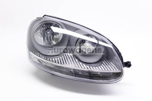 Headlight right grey VW Golf MK5 03-07