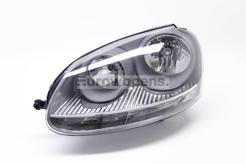 Headlight left grey VW Golf MK5 03-07