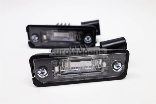 Number plate lights set LED Skoda Superb 08-13 Hatchback