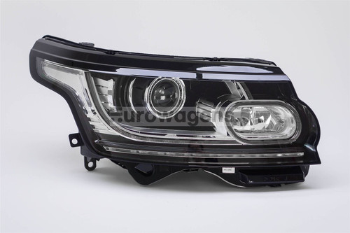 Headlight right bi-xenon LED DRL Range Rover 12-16