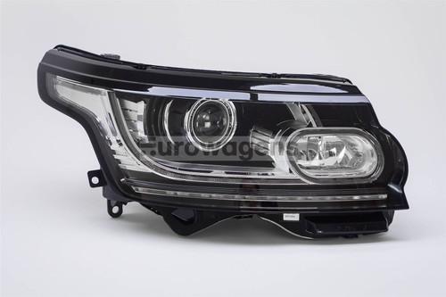 Headlight right bi-xenon LED DRL Range Rover 12-16