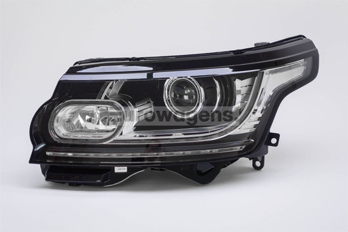Headlight left bi-xenon LED DRL Range Rover 12-16