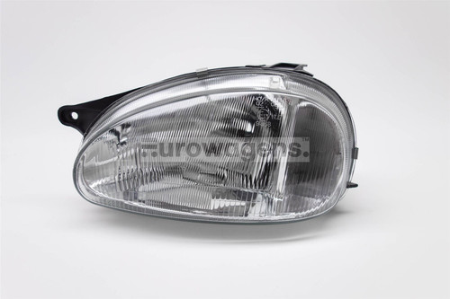Headlight left Vauxhall Corsa B 93-00 Hatchback