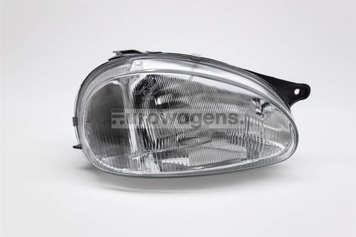 Headlight right Vauxhall Corsa B 93-00 Hatchback