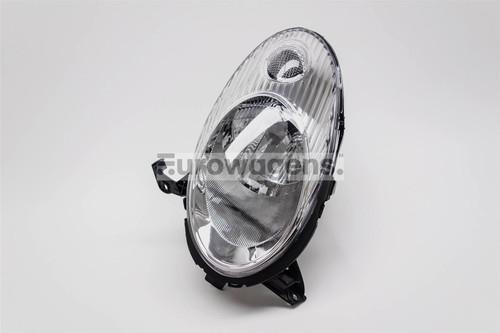 Headlight left chrome Nissan Micra K12 03-07
