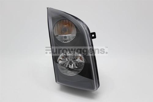 Headlight right black VW Crafter 06-12