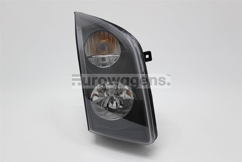 Headlight right black VW Crafter 06-12
