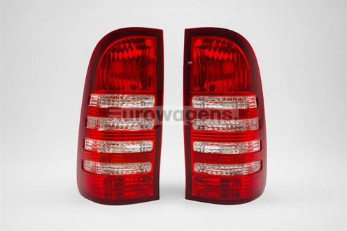 Rear lights set Toyota Hilux 05-15