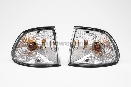 Front indicators set crystal clear BMW 7 Series E38 95-98