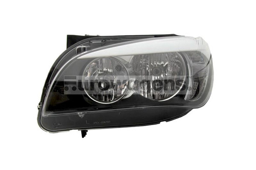 Headlight left BMW X1 Series E84 09-12