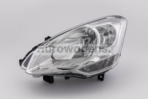 Headlight left Citroen Berlingo Peugeot Partner 08-11