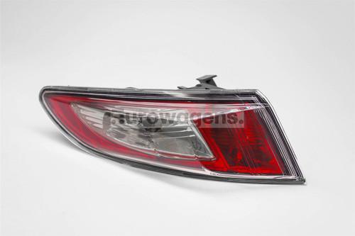 Rear light left clear Honda Civic 09-11
