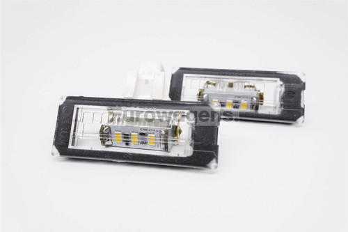 Number plate lights set LED Citroen Relay Fiat Ducato Peugeot Boxer