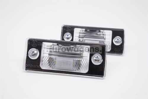 Number plate lights set LED VW Golf MK4 MK5 Bora Passat Tiguan Touareg