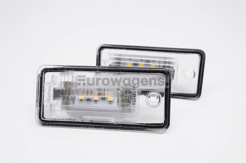 Number plate lights set LED Audi A3 A4 A5 A6 A8 Q7
