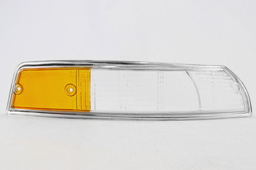 Front indicator lens right chrome rim Porsche 911 67-74