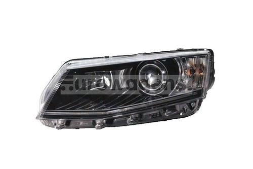 Headlight left xenon LED DRL Skoda Octavia 13-16