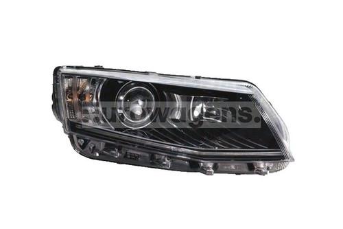 Headlight right xenon LED DRL AFS Skoda Octavia 13-16