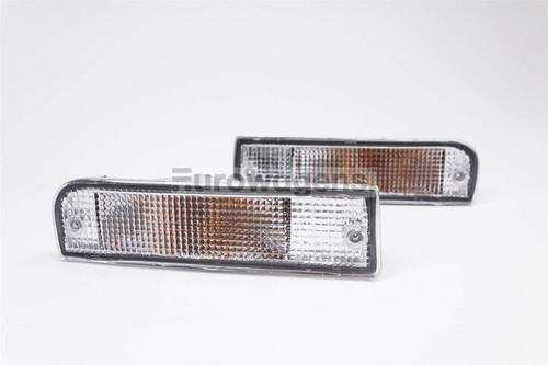 Front indicators set clear Toyota Hilux Surf 4 Runner
