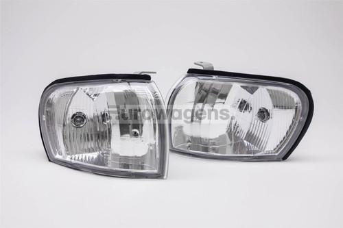 Front indicators set crystal clear Subaru Impreza 93-98