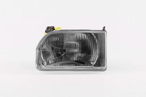 Headlight left Ford Escort MK4 86-90