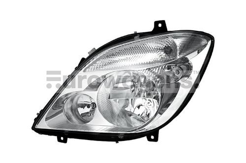 Headlight left with fog light Mercedes Benz Sprinter 06-13