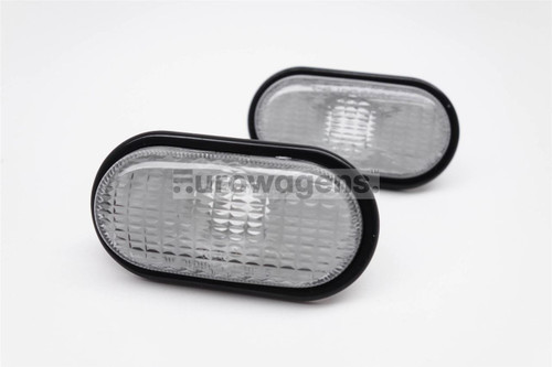 Side indicators set smoked with rim Renault Clio Espace Kangoo Laguna Megane Scenic