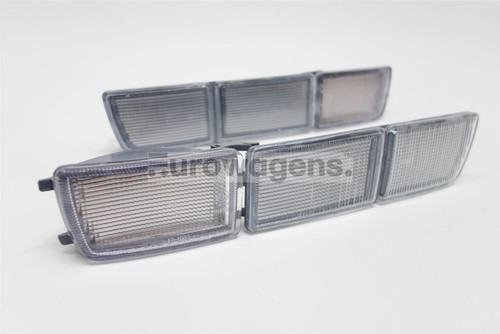 Front indicators covers set clear VW Golf MK3 Vento