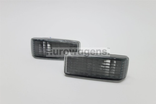 Side indicators set smoked Mercedes E Class W124 85-96