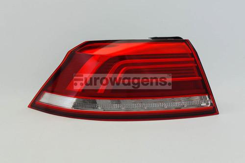 Rear light outer left LED VW Passat 15-17 Saloon