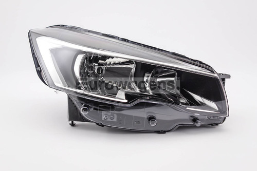 Headlight right Peugeot 508 15-18