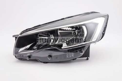 Headlight left Peugeot 508 15-17
