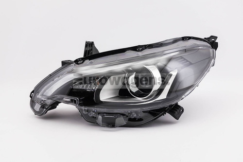 Headlight left with LED DRL Peugeot 108 14-17