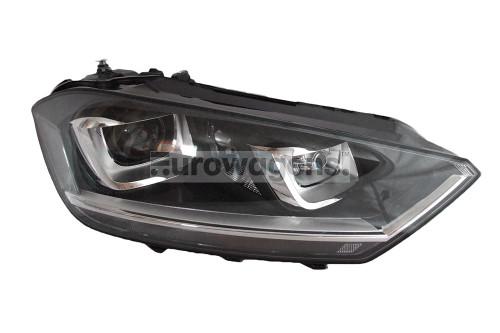 Headlight right bi xenon adaptive LED DRL AFS VW Golf Sportsvan 14-17