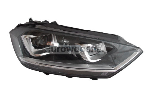 Headlight right bi xenon adaptive LED DRL AFS VW Golf Sportsvan 14-17