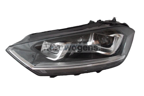 Headlight left bi xenon adaptive LED DRL AFS VW Golf Sportsvan 14-17