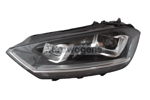 Headlight left bi xenon LED DRL AFS VW Golf Sportsvan 14-17