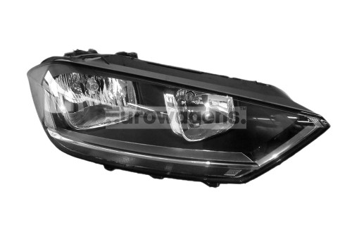 Headlight right VW Golf Sportsvan 14-17