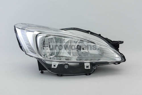 Headlight right Peugeot 508 10-14