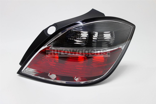 Rear light right smoked red Vauxhall Astra H 07-10